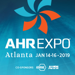 January 2019 Release & AHR Expo